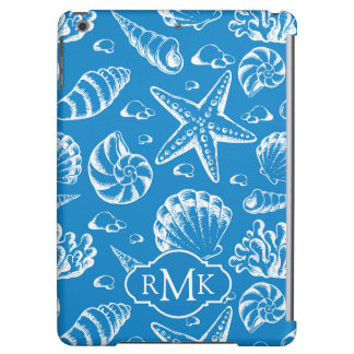 Blue Beach Pattern | Monogram