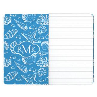 Blue Beach Pattern | Monogram Journal