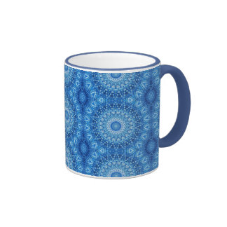 blue beads coffee mugs