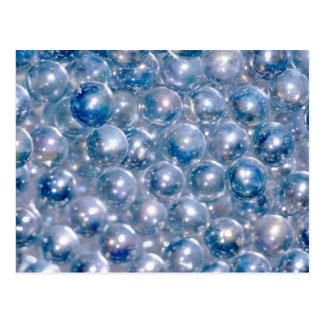 Blue Beads Postcards