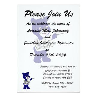 blue bear holding sheet music.png 13 cm x 18 cm invitation card