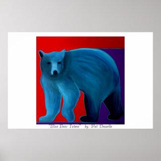 """Blue Bear Totem""  print"