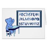 Blue Bear's Toolbox Alphabet Greeting Card
