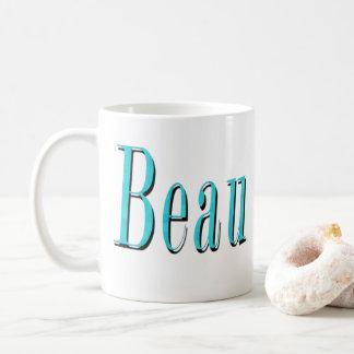 Blue Beau Name Logo, Coffee Mug