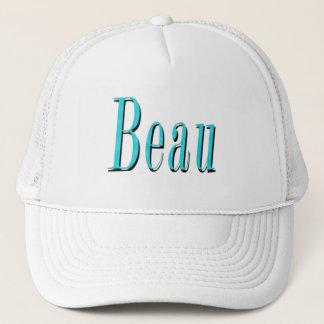 Blue Beau Name Logo, Trucker Hat