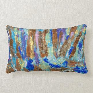 Blue Beck cushion