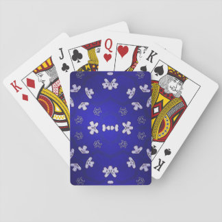 Blue Beijing Playing Cards