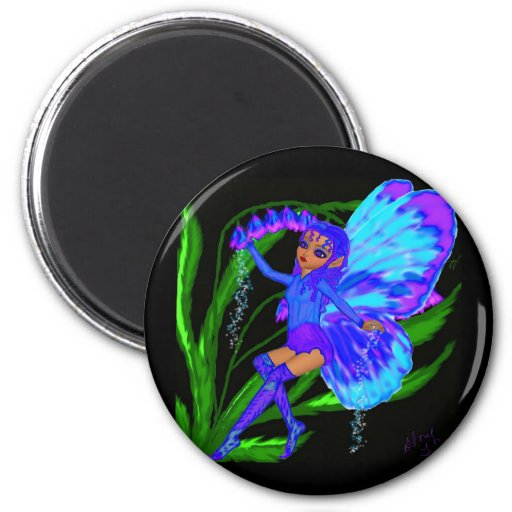 Blue Bell Fairy Refrigerator Magnets