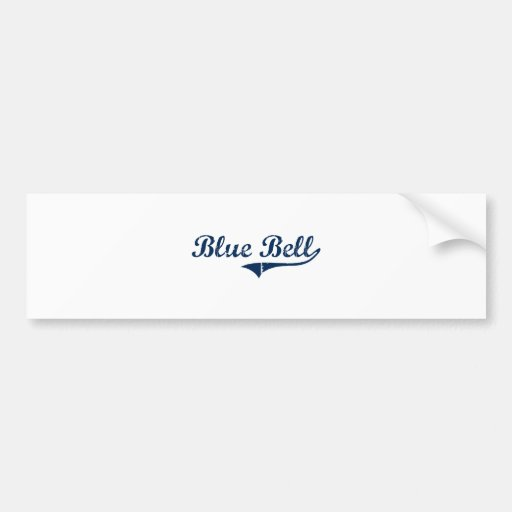Blue Bell Pennsylvania Classic Design Bumper Stickers