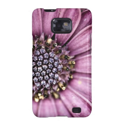Blue Bell Tunicate Centered with antique filter Samsung Galaxy Cases