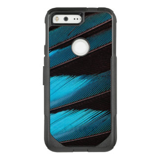 Blue-Bellied Roller Feather Abstract OtterBox Commuter Google Pixel Case