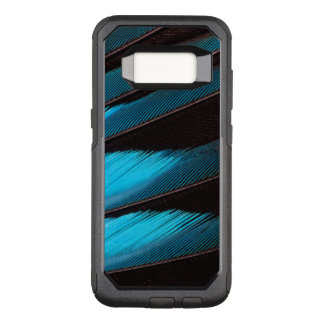 Blue-Bellied Roller Feather Abstract OtterBox Commuter Samsung Galaxy S8 Case