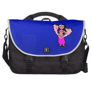 Blue Belly Dancer Bag For Laptop
