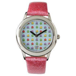 Blue Berry Pattern Watch