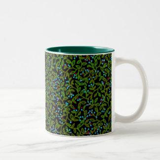 Blue Berry Vine Mug