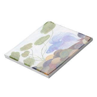 Blue Betta Notepad