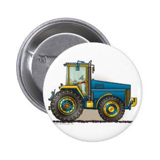 Blue Big Tractor Pins