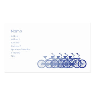 Blue Bike - Business Pack Of Standard Business Cards