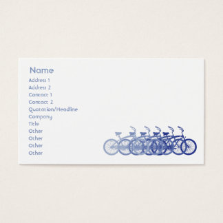 Blue Bike - Business Business Card