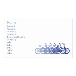 Blue Bike - Business Business Card Templates