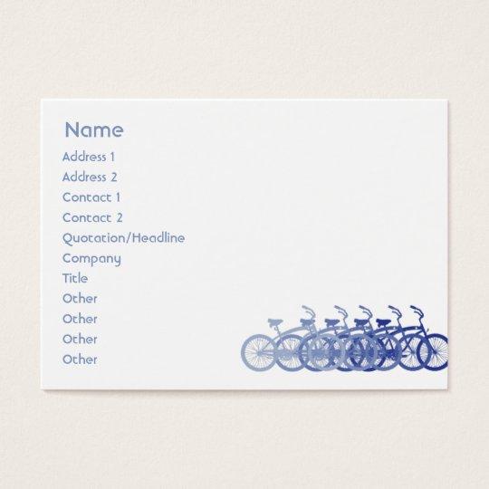 Blue Bike - Chubby Business Card