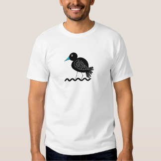 Blue Billed Wader Bird T-Shirt