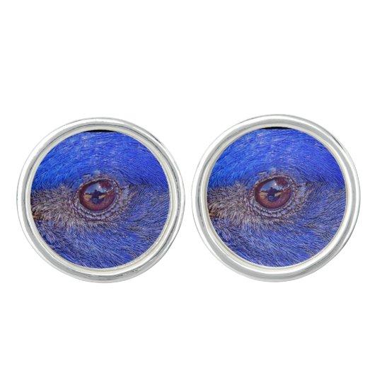 Blue-Bird Bluest Eye Cufflinks