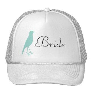blue bird cap