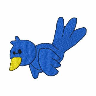Blue Bird Custom Monogrammed Embroidered Shirt