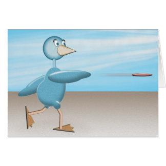 Blue Bird Greeting Card