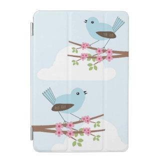 Blue Bird in Blossom Tree iPad Mini Cover