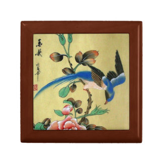 Blue Bird Jewelry Keepsake Box