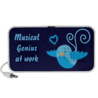 blue bird Musical genius Speakers