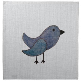 Blue Bird Napkins