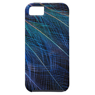 Blue Bird Of Paradise Feather Abstract Tough iPhone 5 Case