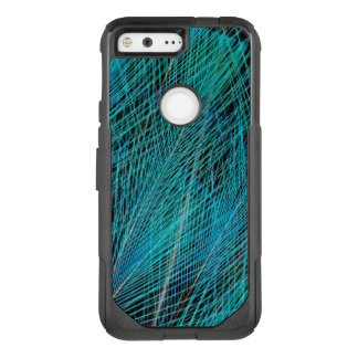 Blue Bird Of Paradise Feathers OtterBox Commuter Google Pixel Case