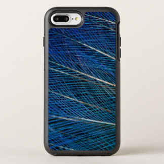 Blue Bird of Paradise feathers OtterBox Symmetry iPhone 8 Plus/7 Plus Case