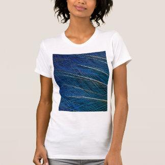 Blue Bird of Paradise feathers T-Shirt