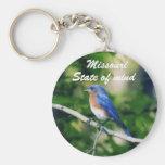 Blue bird single, Missouri, State of mind Key Chan Key Chain