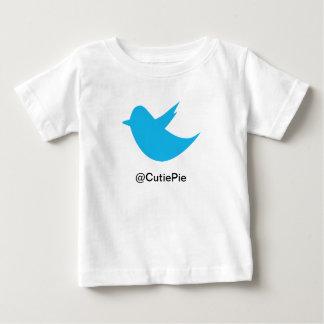 Blue Bird Social Media Baby T-Shirt