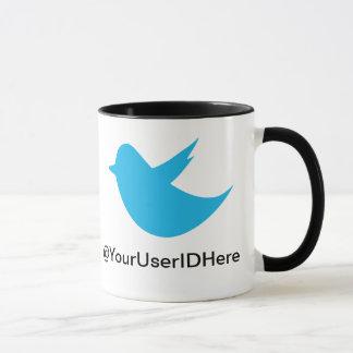 Blue Bird Social Media Mug