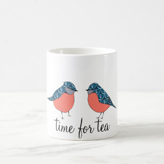 Blue Bird Time for Tea Mug