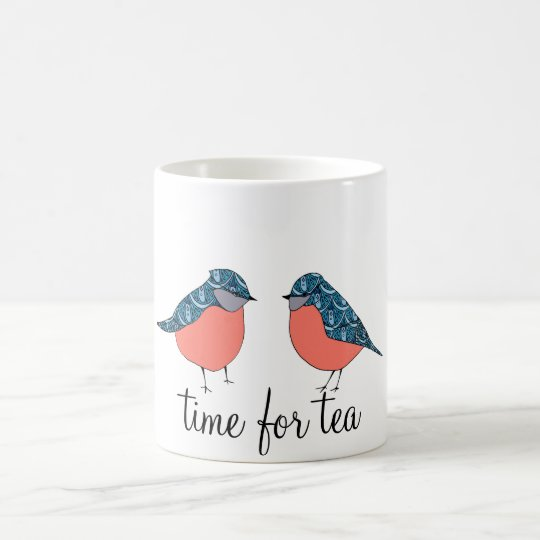 Blue Bird Time for Tea Mug