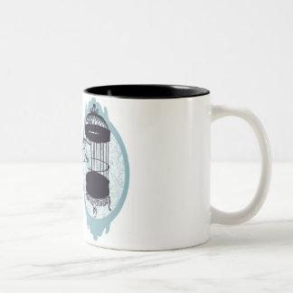 Blue birdie's escape Mug