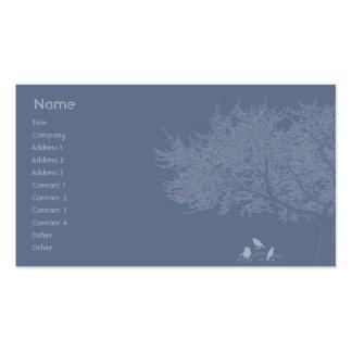 Blue Birds - Business Business Card Templates