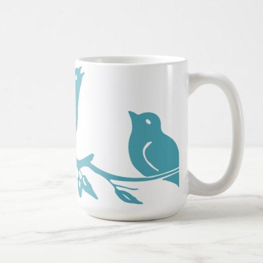 Blue Birds Mug