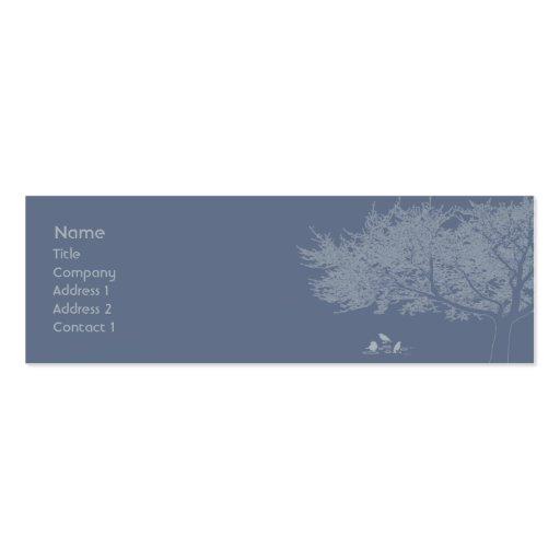 Blue Birds - Skinny Pack Of Skinny Business Cards