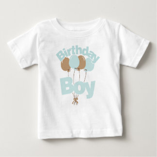 Blue Birthday Boy Baby T-Shirt