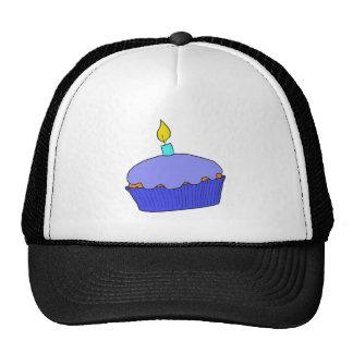 Blue Birthday Boy Cupcake Design Cap