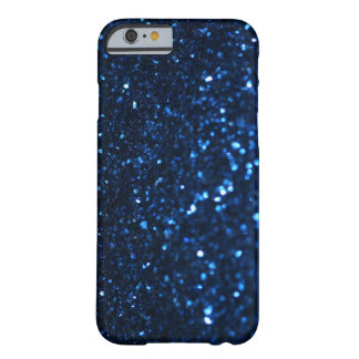 Blue Black Glimmer Barely There iPhone 6 Case